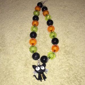 Halloween bubble gum necklace